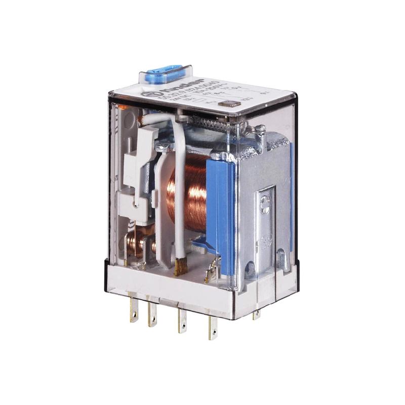رله ۸ پایه ۲ کنتاکت ۱۱۰VDC , 10A کد ۵۵٫۳۲٫۹٫۱۱۰٫۰۰۹۴ finder ایتالیا